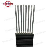 China Heat Dissipation Mobile Phone Blocking Device 160W DC-12V/24V Jamming Up To 8 Signals supplier