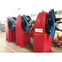 China 2Ton Head Tail Stock Rotary Welding Positioner With Chuck, Handbox And Foot Pedal Control. supplier
