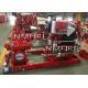 China Ul Listed 1000usGPM@140PSI diesel DRIVER SPLIT CASE Pump set for sale