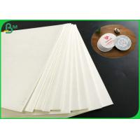 Good Water Absorption 1.4mm 1.6mm 1.8mm White Absorbent Paper For Coaster Board for sale