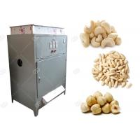 China Roasted Hazelnut Pine Nut Peeling Machine , Automatic Cashew Peeler Machine GELGOOG for sale