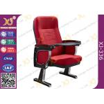 China Aluminum Strong Base Auditorium Theater Sesting Chairs 580 * 750 * 1060 MM for sale