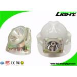 Rechargeable Cree LED Miner Cap Lamp PC ABS 1200 Battery Cycles 232lum Illuminous for sale