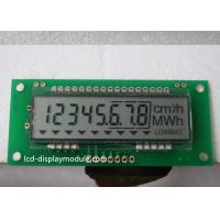 China 3 Lines Series Interface 8 Digit 7 Segment Display TN For Electricity Meter supplier