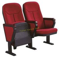 China XJ-101 550mm Center distance pp outer auditorium chairs , retractable auditorium seating for sale