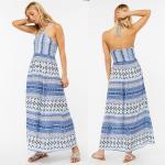 China Factory Direct Sales Halter Maxi Dress Laddies Boho Long Dresses for sale