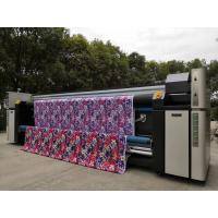 Inkjet Sublimation Digital Fabric Printing Machine With Three Epson4720 Heads for sale