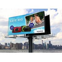 Ultra Slim  P5.33 Outdoor Fixed LED Display IP65 High Gray Scale Panel for sale