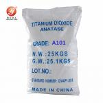 Chemical Material Anatase Titanium Dioxide White Pigments A101 Industry Grade for sale