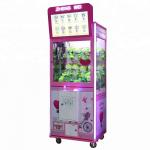 China Arcade Game Toy Crane Claw Machine With Lcd Screen For Video Advertising for sale