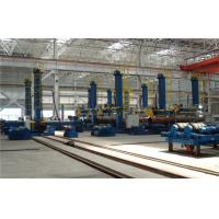 LH Series Column and Boom Welding Manipulator With Safety Ladder in the Wind Tower Productions Line