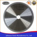 Aluminum Cutting TCT Saw Blade / Circular Saw Blade 250mm To 500mm