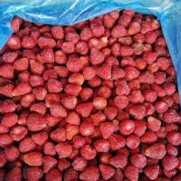 China BRC Certified IQF Frozen Food Fruits 100% IQF Strawberry No Added Sugar for sale