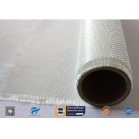 China 550℃ Alkali Free Fiberglass Woven Roving Fabric Insulation Materials for sale