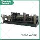China Energy Saving Cement Paper Bag Folding Machine , Bottom Width 100 - 150mm for sale