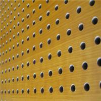 Mdf Acoustic Board Wooden Timber Perforated Sound Absorbing Panels for sale
