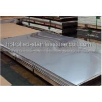 Durable 201 , 202 , 304 , 316 Hot Rolled Stainless Steel Plate No1 finished for sale