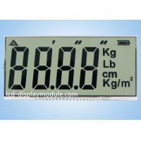 20 Metal PINs Twisted Nematic Display For Electronic Scale ISO14001 Approved for sale