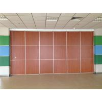 Thickness 65mm Sliding System Removable Wall Partition / Exhibition Acoustic Room Divider for sale