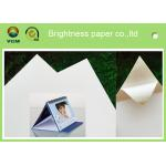 China 100% Virgin Wood Pulp Glossy Printing Paper White Art Cardboard Eco Friendly for sale