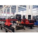 Industrial Gantry Type CNC Plasma Flame Metal Cutting Machine with Panasonic Motor for sale