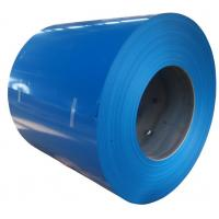 China Durable Outside Color Coated Steel Sheet Coil With Hot Dipped Galvanization supplier