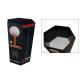 China  Black Customized design Cardboard Dump Bin ENDB004  for retail store / super market for sale