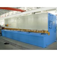 6m Length Electric Hydraulic Shearing Machine Metal Sheet Cutting Tools 15KW Power for sale