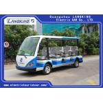 China 4 Wheel Electric Sightseeing Car , 11 Seats Electric Passenger Vehicle ,electric mini bus With Sun for sale
