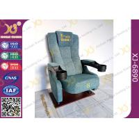 China Pushing Back Entertainment Movie Theater Seats / Home Cinema Seating for sale