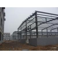 China Pre-fabricated Painting / Galvanized Steel Structure  Lightweight Farm Shed supplier