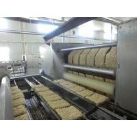 Stable Automatic Noodle Making Machine Fried Instant Noodle Manufacturing Plant for sale