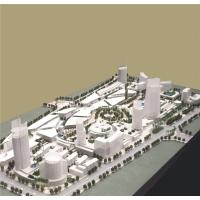 China Large Scale City Building Models , White Color City Planning Models 3 * 4M for sale