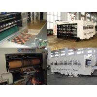 China High Speed Automatic  Carton Box Making Machine Printing Slotting Die-Cutter 220 Pcs/Min for sale