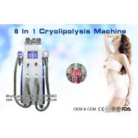 China Multifunction Cryolipolysis Slimming Machine With Cavitation / Radio Frequency / Lipo Laser for sale