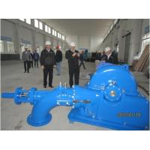 High Efficiency Horizontal Turgo Type Hydro Turbine, Turgo Turbine For Hydro Power Station