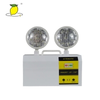 CB Certificate Twin Head LED Emergency Light For Fire Emergency