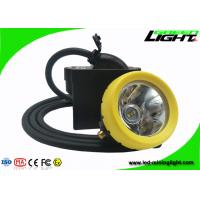 1.65m Cable Length Cordless Cap Lamp Mining Over 18 Hours Continous Discharge Time for sale