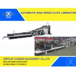 China E Flute Corrugated Cardboard Carton Making Machine Cardboard automatic hight speed flute Laminator for sale