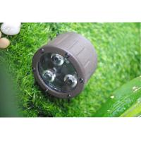 China 3 LED Landscape Spotlight Color Temperatures 3000K 35 ° Beam Angles for sale