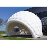 7x5m outdoor movable advertising white inflatable golf tent for trade shows or promotions for sale