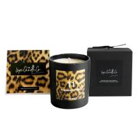 100% Natural Organic Handmade Jar Candles Scented Soy Wax Candle Leopard Printing for sale