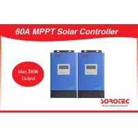 60A With Communication Port Max 3000W Output 48V MPPT Solar Charge Controller for sale