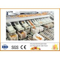 Energy Saving Orange Juice Production Line With PLC Touch Screen ISO9001 for sale
