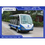 China 14 People Independent seat  Electric Sightseeing Bus Max.Speed 28 km/h AC MOTOR 72V/7.5KW for sale