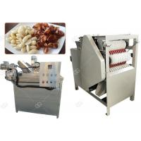China Auto Almond Roasting Machine Peanut Blanching And Peeling Wet Type 150 Kg / H for sale