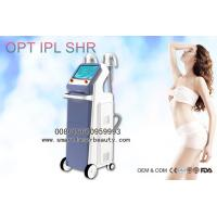 China 2 Handpieces OPT IPL Hair Removal Machine / Efficient IPL SHR Super Hair Removal for sale