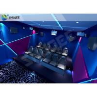China Amazing Control System Mini 7D Movie Theater With 9 Seats Customized Capacity for sale
