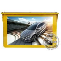 4G Network Bus Digital Signage 15 Inches Video Player Taxi Advertising Screen Wifi for sale