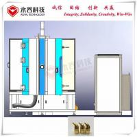 Gold Stainless Steel PVD Coating Service Cathodic Arc Plating Gold Copper Colors for sale